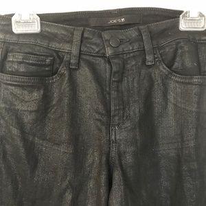 Joe's Jeans Jeans - Joe's Jeans Black Coated Skinny Ankle Jeans 29